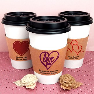 Personalized Kraft Insulated Cup Sleeves