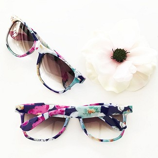 Blank Floral Sunglasses