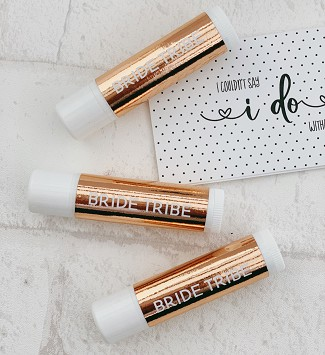 Bride Tribe Foil Lip Balms (set of 6)