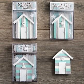 Boat House Magnets - 4 Different Styles