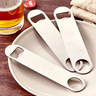 Professional 7 Inch Stainless Steel Bartender Bottle Openers