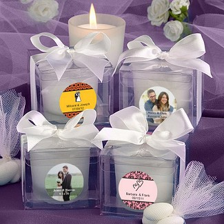 """Personalized Expressions Collection"" Candle Favors"