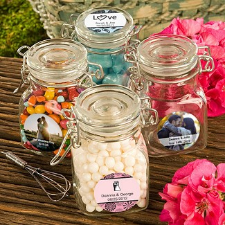 """Personalized Expressions Collection"" Apothecary Jar Favors"