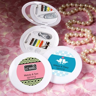 """Personalized Expressions Collection"" Sewing Kit Favors"