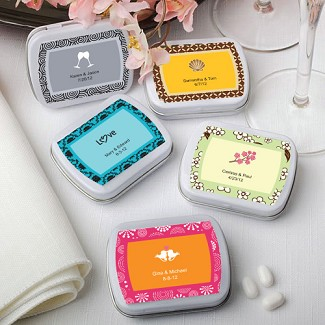 """Personalized Expressions Collection"" Mint Tins"