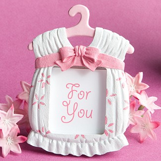 Cute Baby Themed Photo Frame Favors - Girl