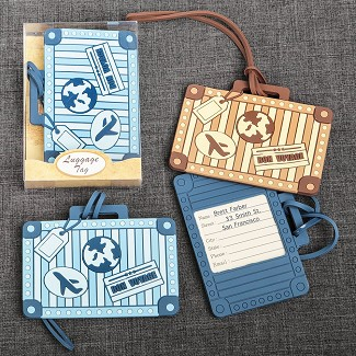 Suitcase Design Luggage Tag - 2 Assorted