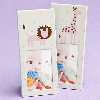 """Animal Themed"" Baby Frames - Pink"