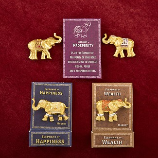 Lucky Elephant Magnets