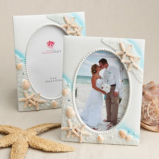 Sea Themed Picture Frame / Table Number Holder
