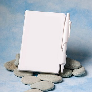 """Perfectly Plain Collection"" Notebook Favors"