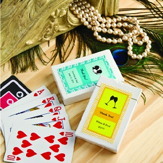 """Design Your Own Collection"" Playing Cards"
