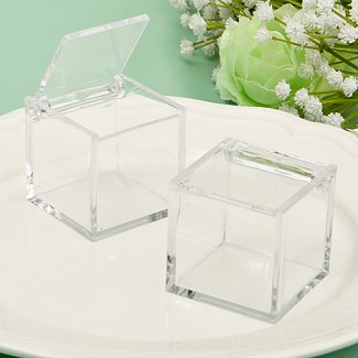 """Perfectly Plain Collection"" Acrylic Box"
