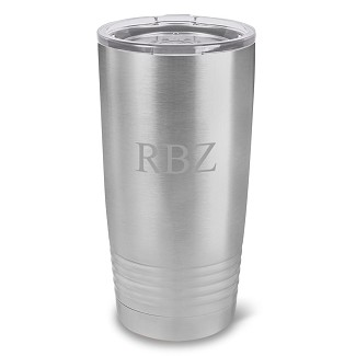 Personalized 20 oz. Stainless Steel Double Wall Insulated Tumbler
