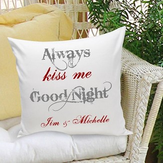 Personalized Couples & Love Throw Pillows