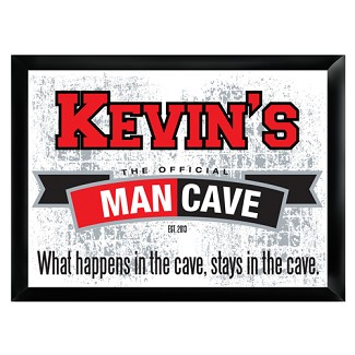 "Personalized ""Official"" Man Cave Pub Sign"