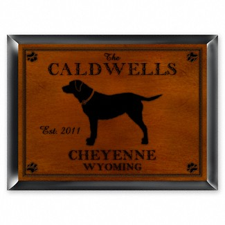 Personalized Cabin Series Traditional Sign (Available in 9 Designs)