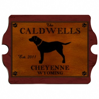 Personalized Cabin Series Vintage Sign (Available in 9 Designs)