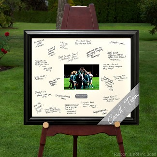 Personalized Celebrations Coach / Team Signature Frame