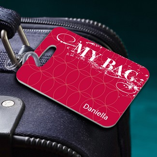 "Personalized ""My Bag"" Luggage Tag"