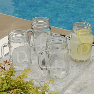 Personalized Classic Glass Jar Set