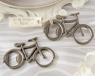 """Let's Go On an Adventure"" Bicycle Bottle Opener"