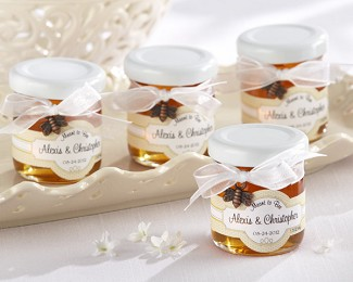 """Meant to Bee"" Personalized Clover Honey (Set of 12)"
