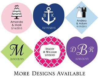 Personalized Favor Tags - All Occasions (Set of 36)